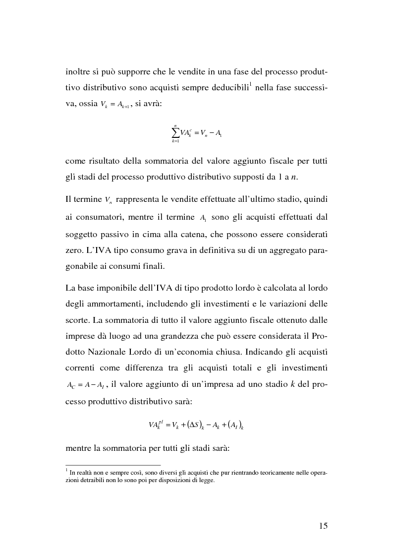 Anteprima della tesi: I problemi del regime definitivo Iva nell'Unione Europea, Pagina 9