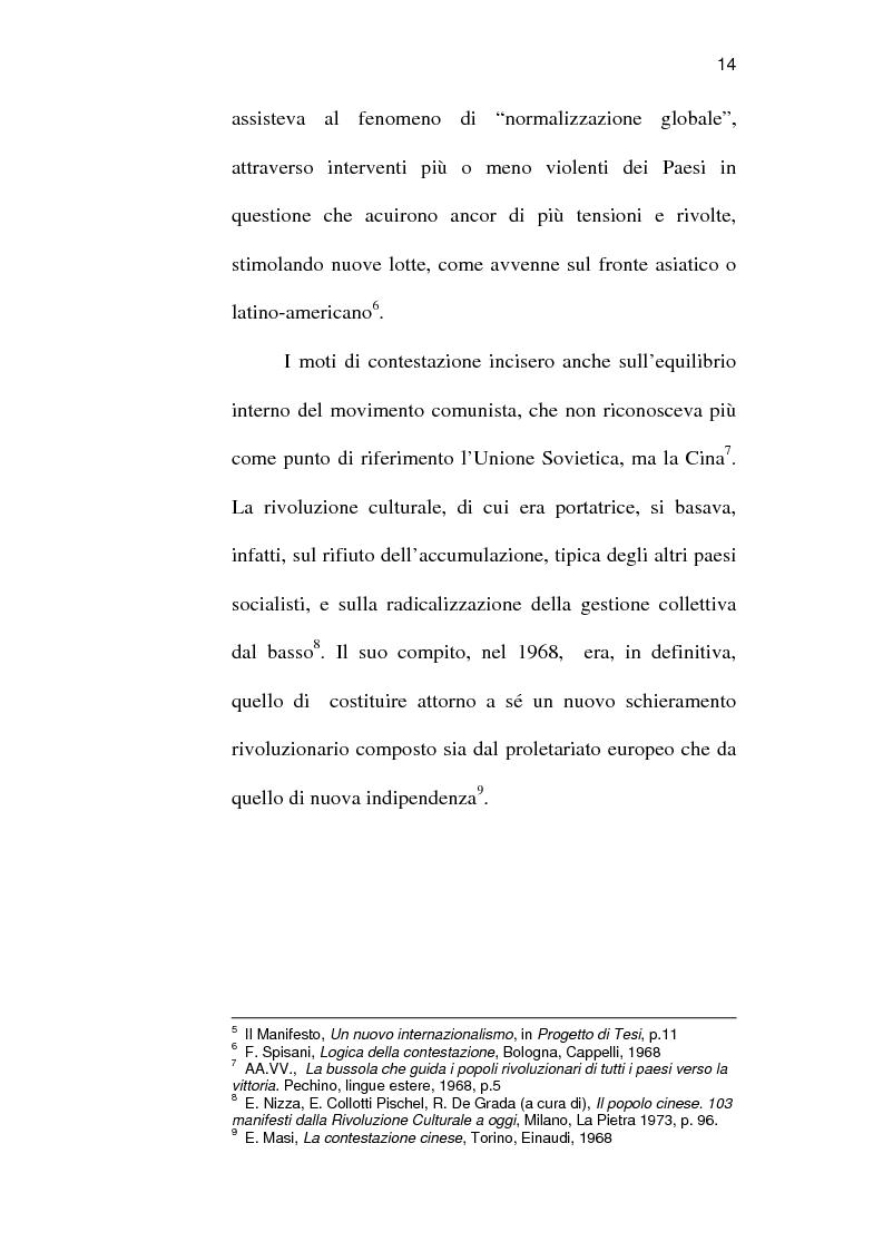 Anteprima della tesi: Sindacato e terrorismo in Italia dalla strage di piazza Fontana all'assassinio Moro, 1968-1978, Pagina 11
