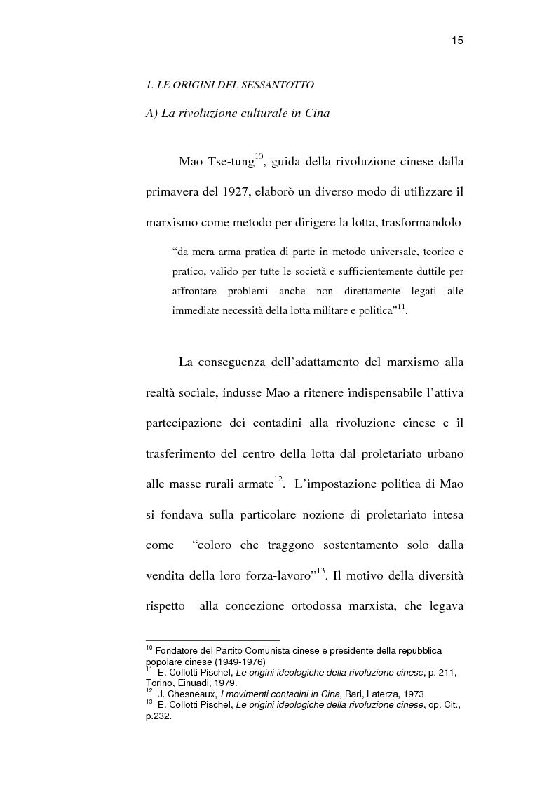Anteprima della tesi: Sindacato e terrorismo in Italia dalla strage di piazza Fontana all'assassinio Moro, 1968-1978, Pagina 12