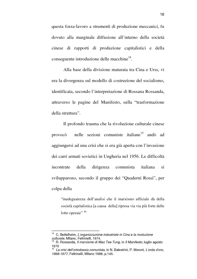 Anteprima della tesi: Sindacato e terrorismo in Italia dalla strage di piazza Fontana all'assassinio Moro, 1968-1978, Pagina 13