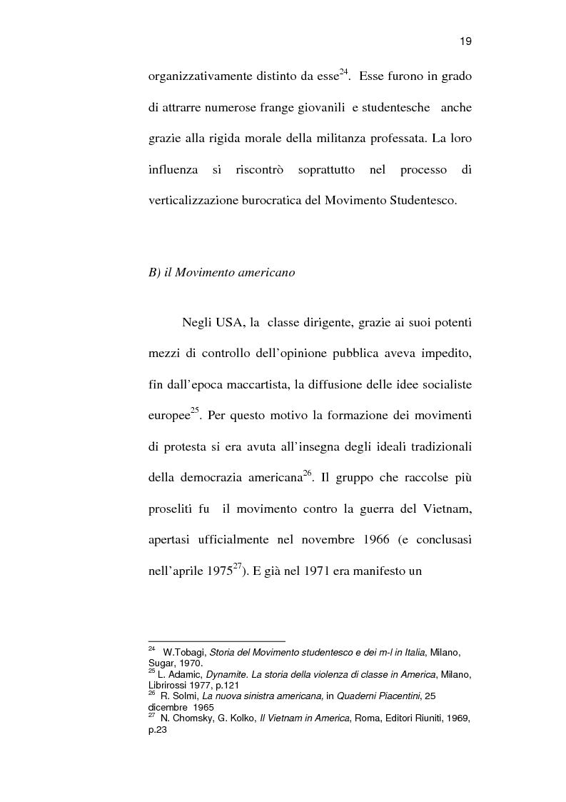 Anteprima della tesi: Sindacato e terrorismo in Italia dalla strage di piazza Fontana all'assassinio Moro, 1968-1978, Pagina 16