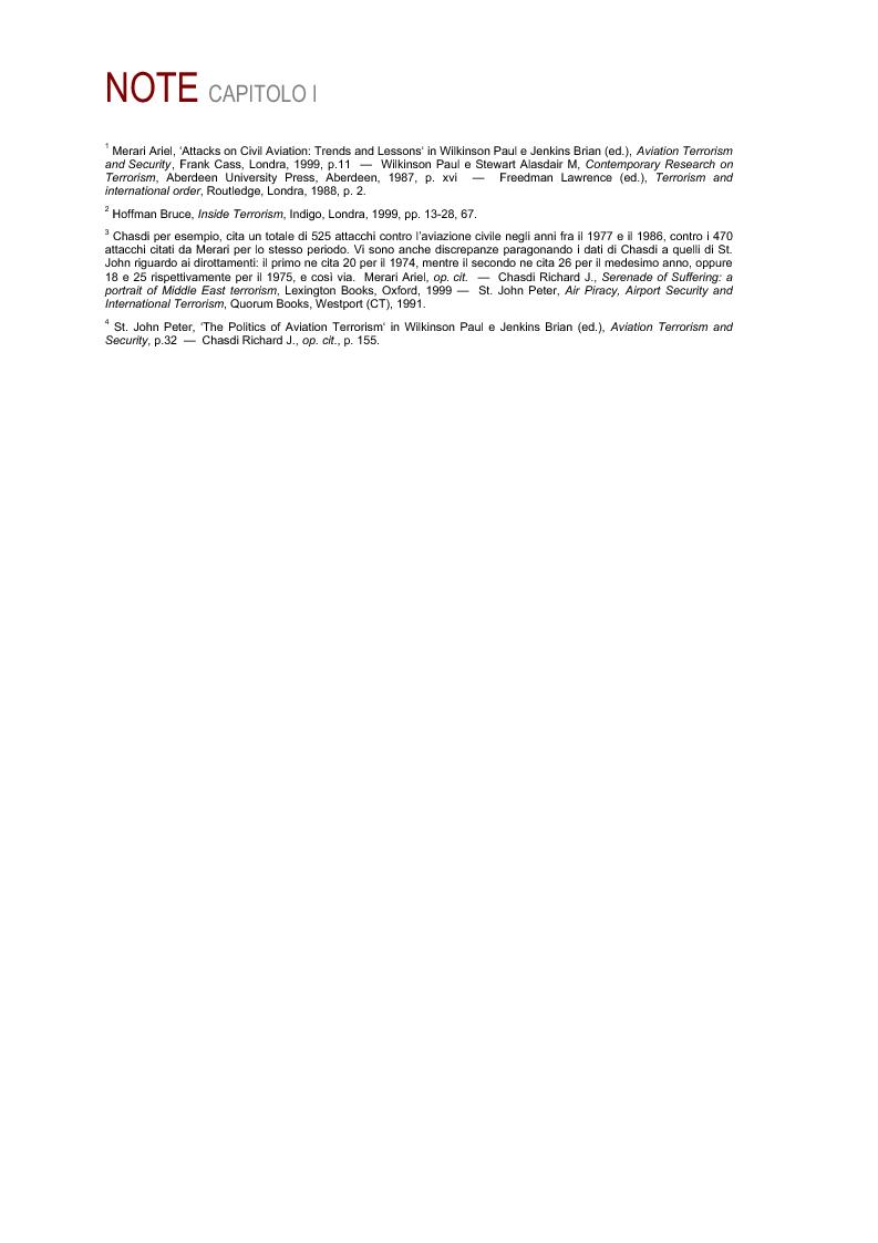 Anteprima della tesi: Il terrorismo aereo del Medio Oriente, Pagina 4
