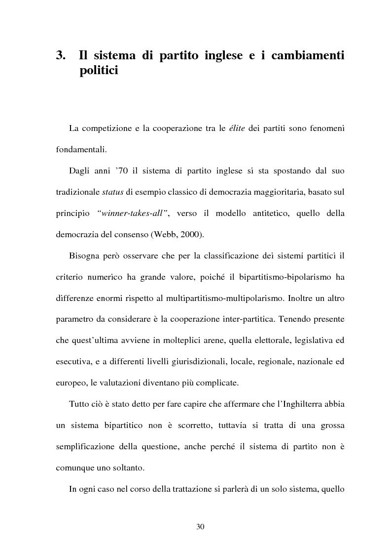 Anteprima della tesi: La difficile esistenza dei Liberal Democrat nel sistema politico inglese, Pagina 1