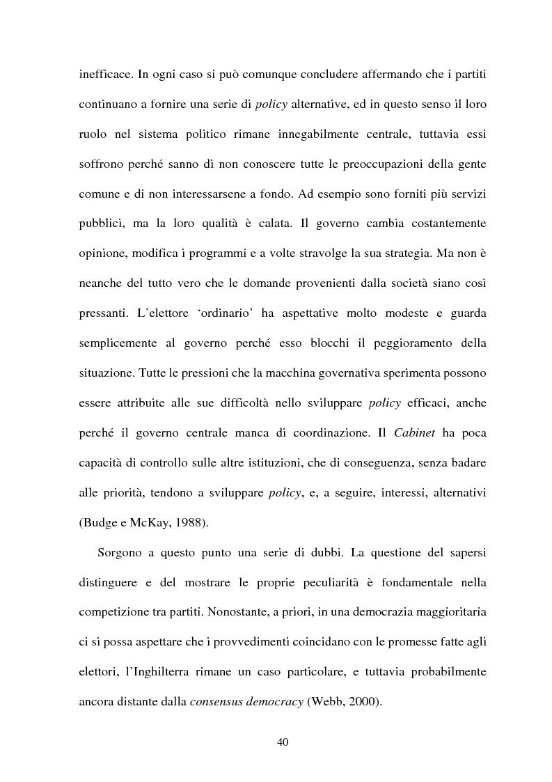 Anteprima della tesi: La difficile esistenza dei Liberal Democrat nel sistema politico inglese, Pagina 11