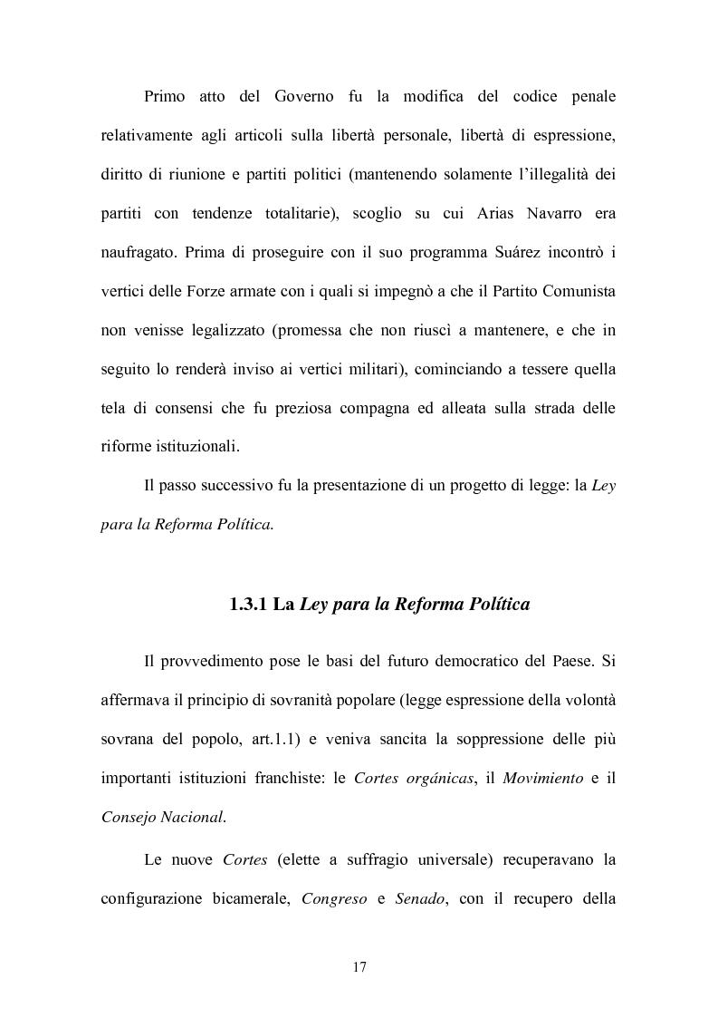 Anteprima della tesi: Il rapporto fiduciario nella forma di governo parlamentare spagnola, Pagina 14
