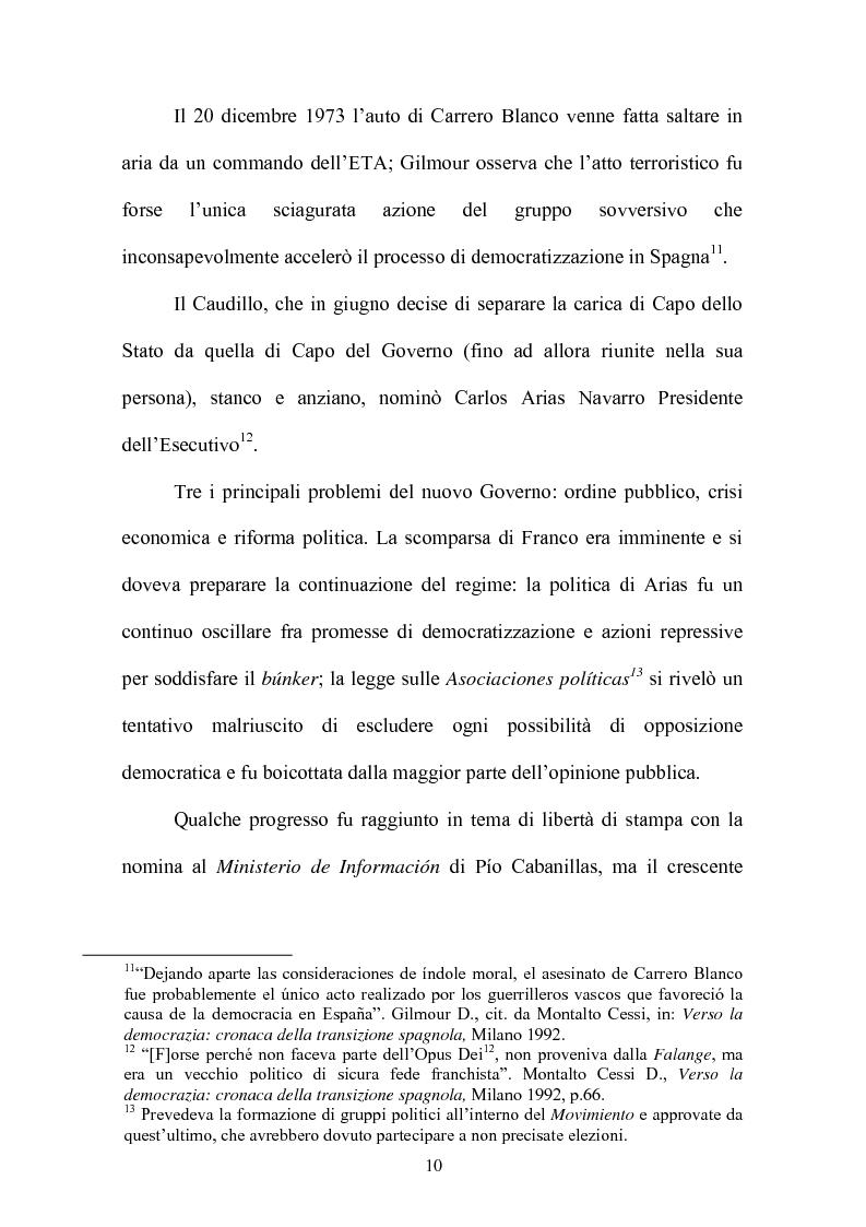 Anteprima della tesi: Il rapporto fiduciario nella forma di governo parlamentare spagnola, Pagina 7