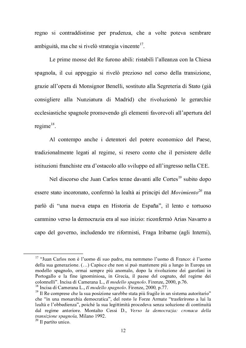 Anteprima della tesi: Il rapporto fiduciario nella forma di governo parlamentare spagnola, Pagina 9