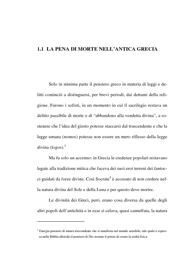 Anteprima della tesi: L'abolizione della pena di morte nella normativa internazionale, Pagina 10