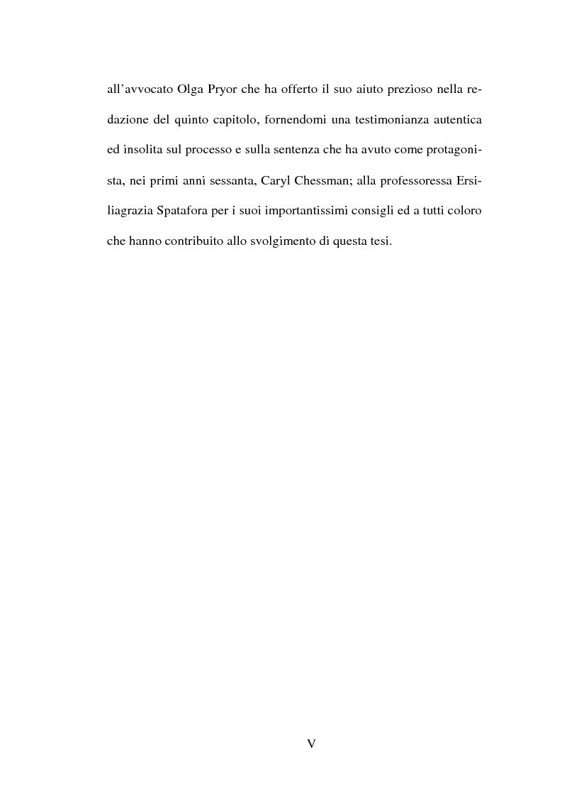 Anteprima della tesi: L'abolizione della pena di morte nella normativa internazionale, Pagina 5