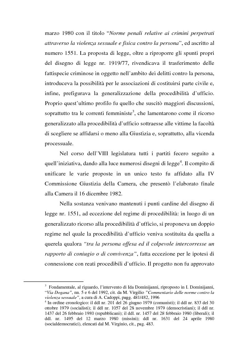 Anteprima della tesi: Trattamento penale e penitenziario dei condannati per reati sessuali, Pagina 7