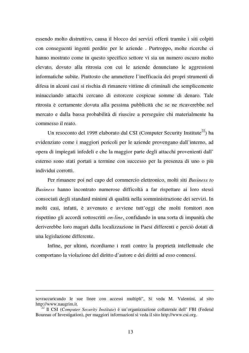 Anteprima della tesi: Gli Adr come alternativa alle controversie su Internet, Pagina 13