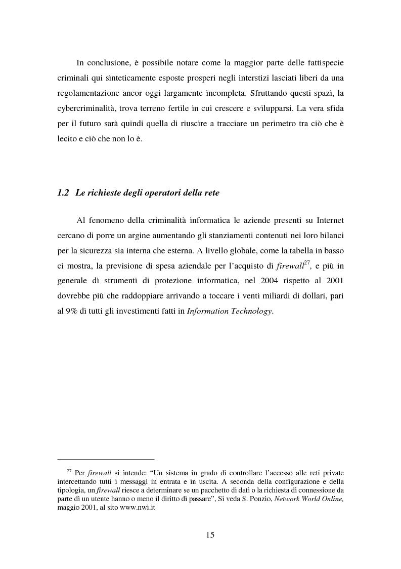Anteprima della tesi: Gli Adr come alternativa alle controversie su Internet, Pagina 15