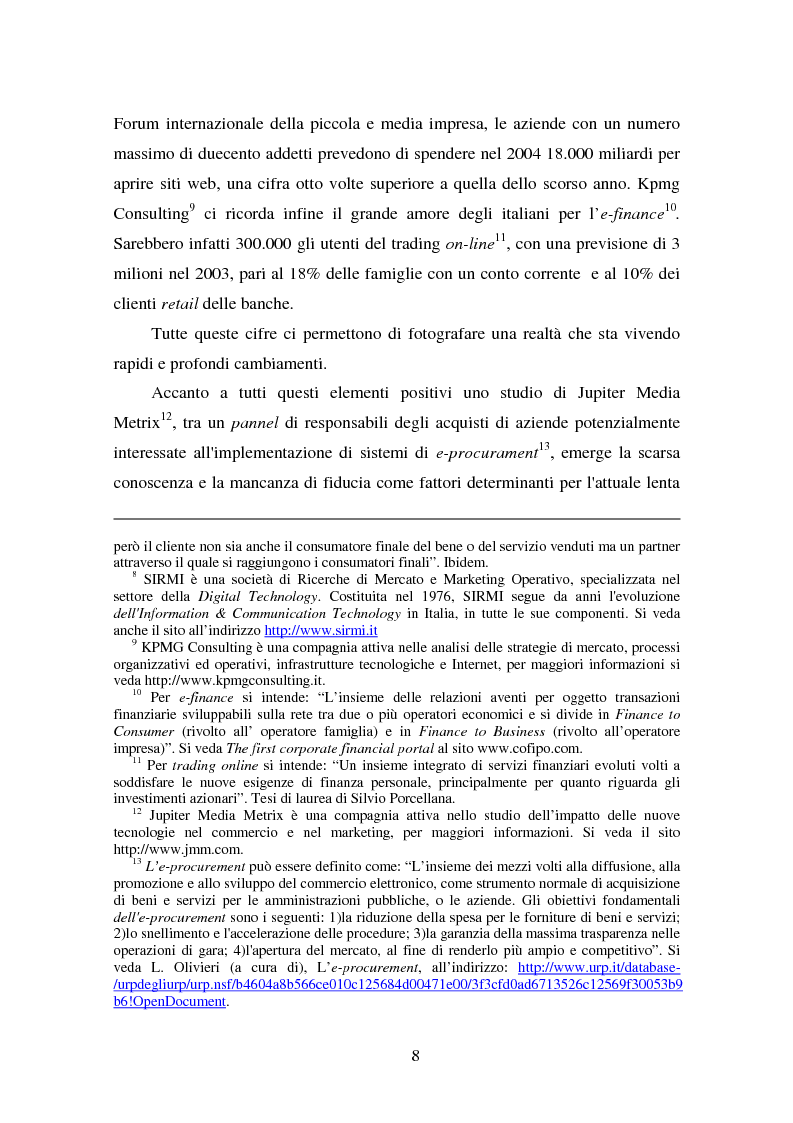 Anteprima della tesi: Gli Adr come alternativa alle controversie su Internet, Pagina 8