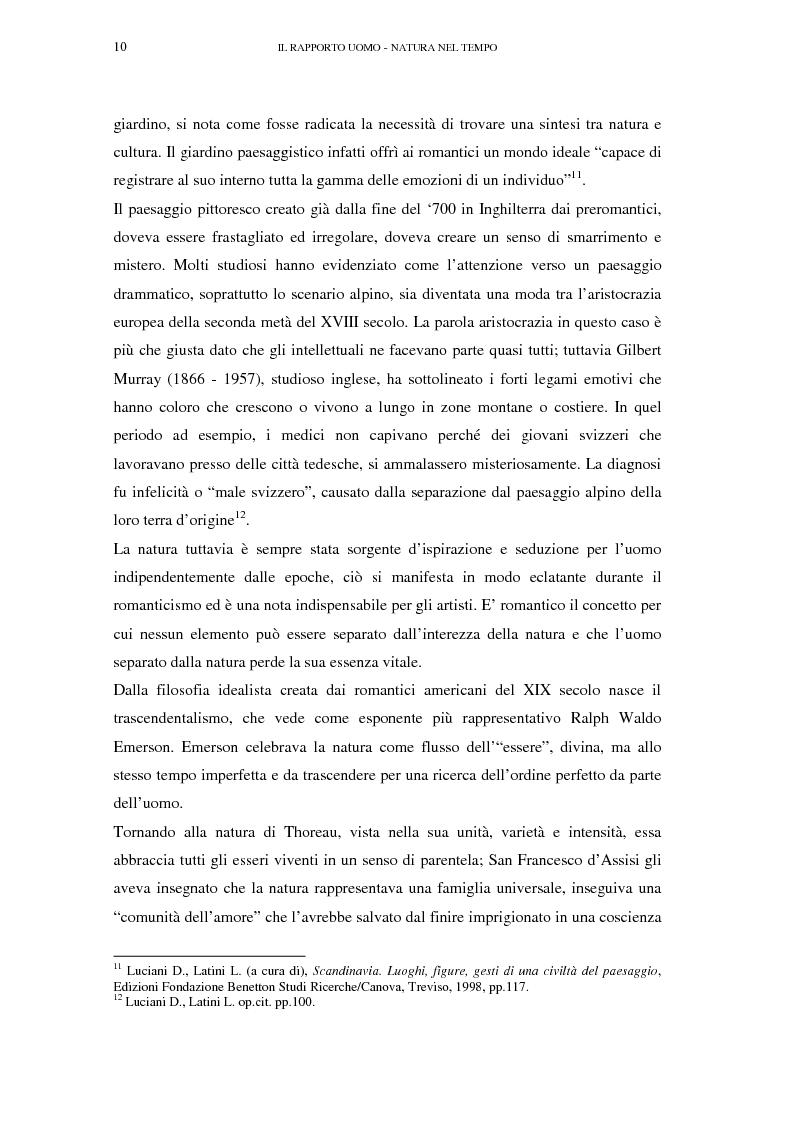 Anteprima della tesi: Il turismo sostenibile e l'impresa alberghiera: casi italiani e inglesi, Pagina 10