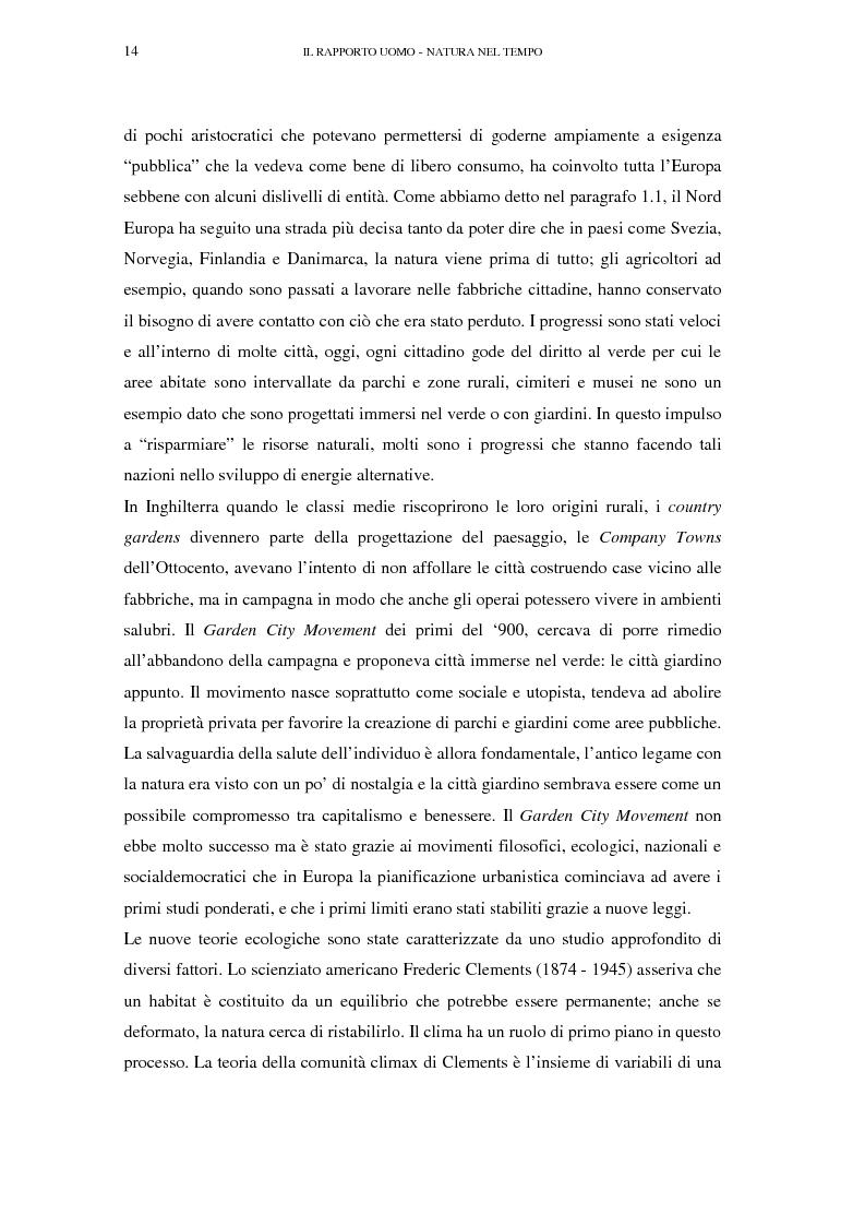 Anteprima della tesi: Il turismo sostenibile e l'impresa alberghiera: casi italiani e inglesi, Pagina 14