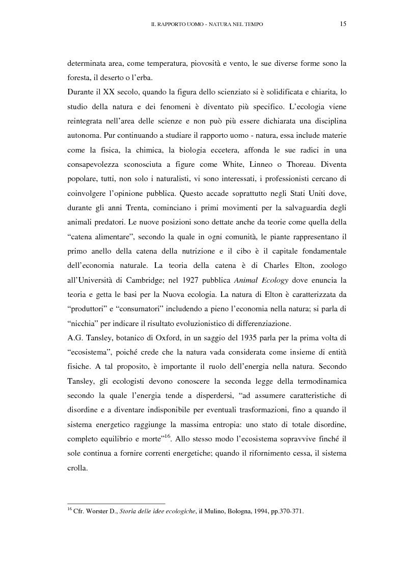 Anteprima della tesi: Il turismo sostenibile e l'impresa alberghiera: casi italiani e inglesi, Pagina 15