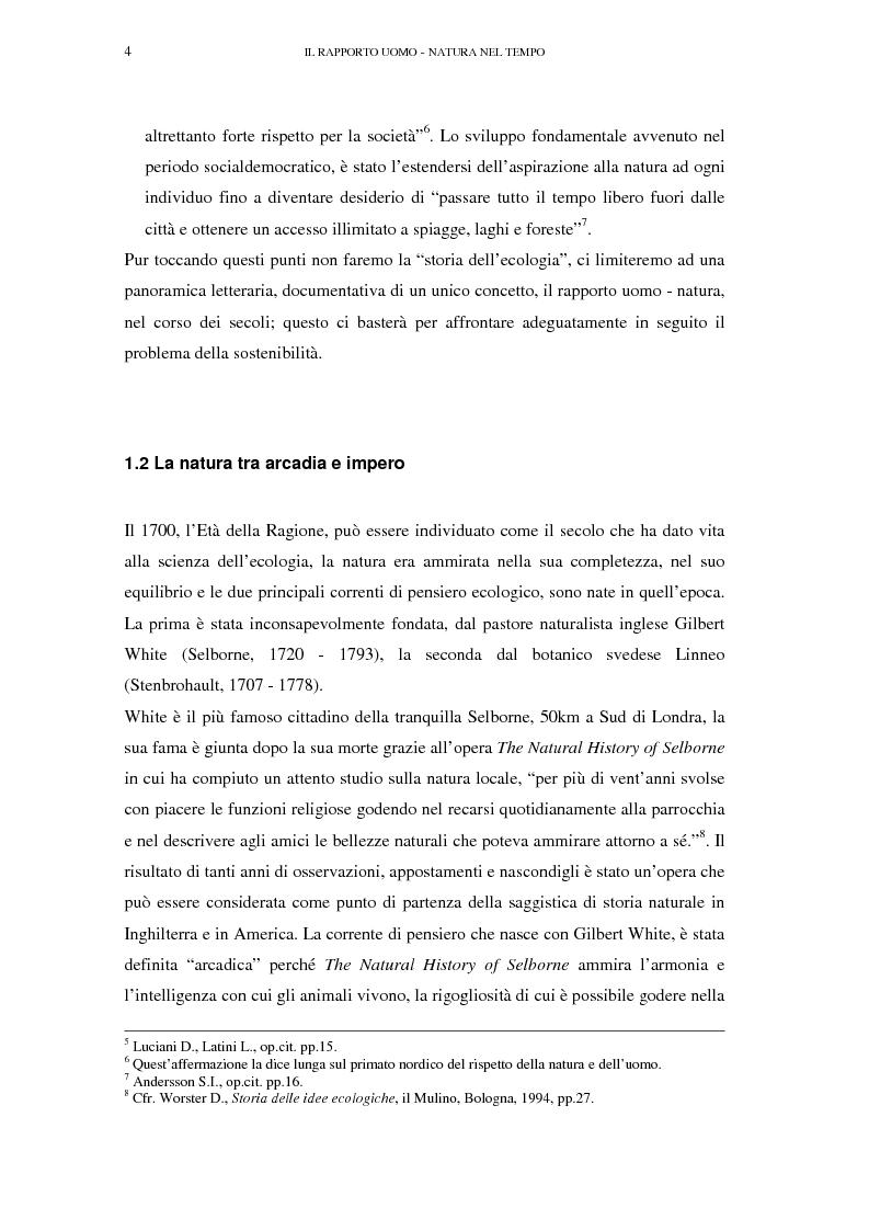 Anteprima della tesi: Il turismo sostenibile e l'impresa alberghiera: casi italiani e inglesi, Pagina 4