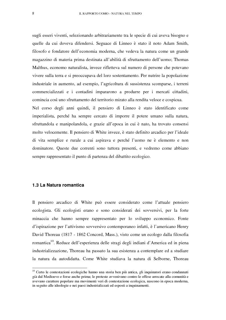 Anteprima della tesi: Il turismo sostenibile e l'impresa alberghiera: casi italiani e inglesi, Pagina 8