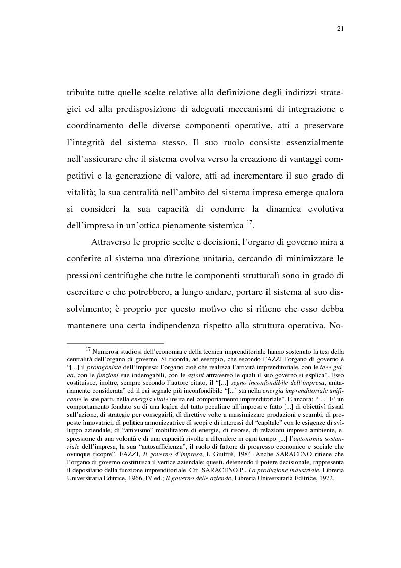 Anteprima della tesi: Rischio d'impresa e capitale allocato. L'impatto sulle aree funzionali dell'impresa, Pagina 12