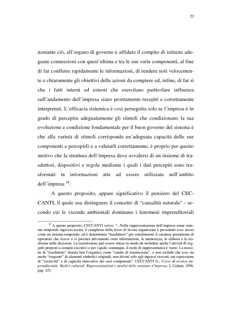 Anteprima della tesi: Rischio d'impresa e capitale allocato. L'impatto sulle aree funzionali dell'impresa, Pagina 13