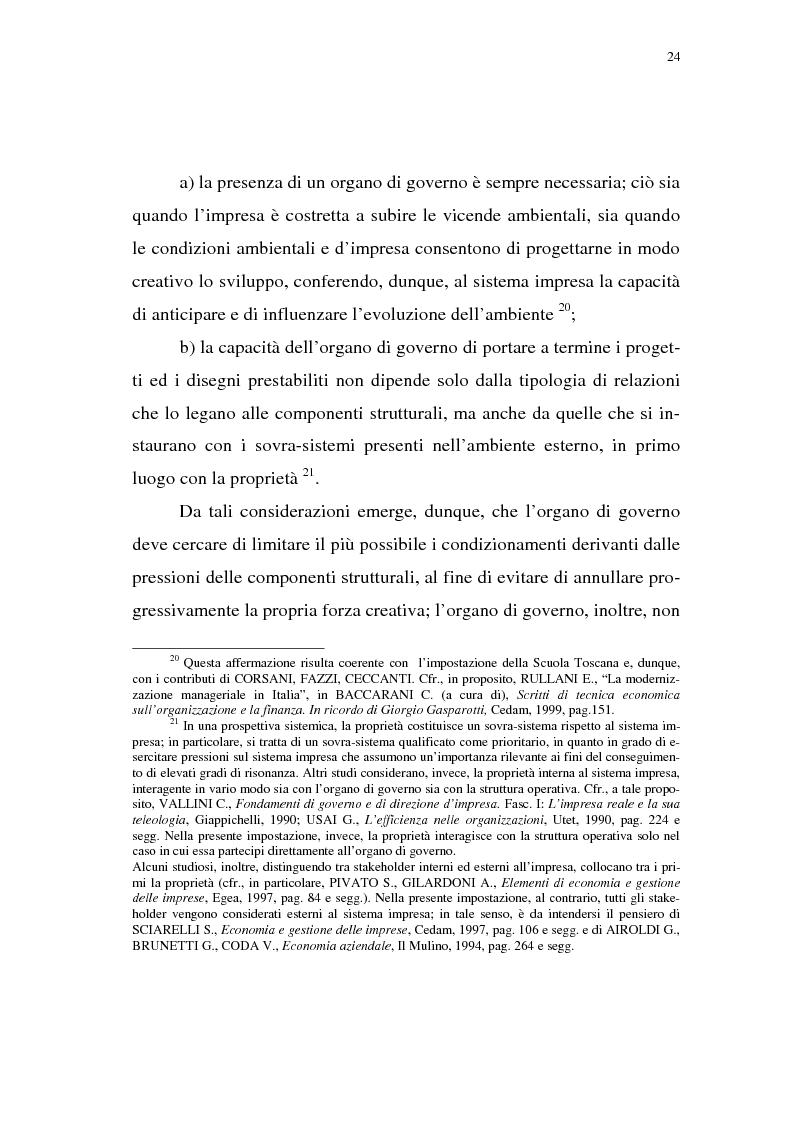 Anteprima della tesi: Rischio d'impresa e capitale allocato. L'impatto sulle aree funzionali dell'impresa, Pagina 15