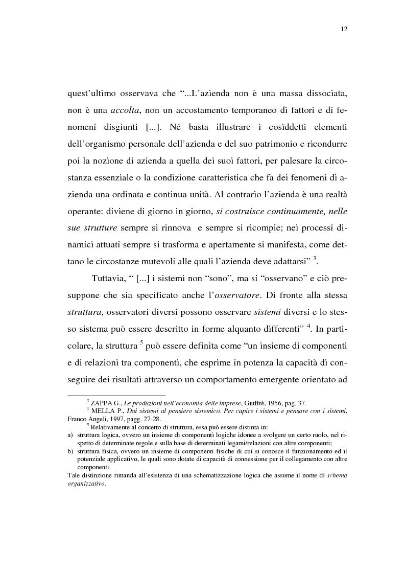 Anteprima della tesi: Rischio d'impresa e capitale allocato. L'impatto sulle aree funzionali dell'impresa, Pagina 3