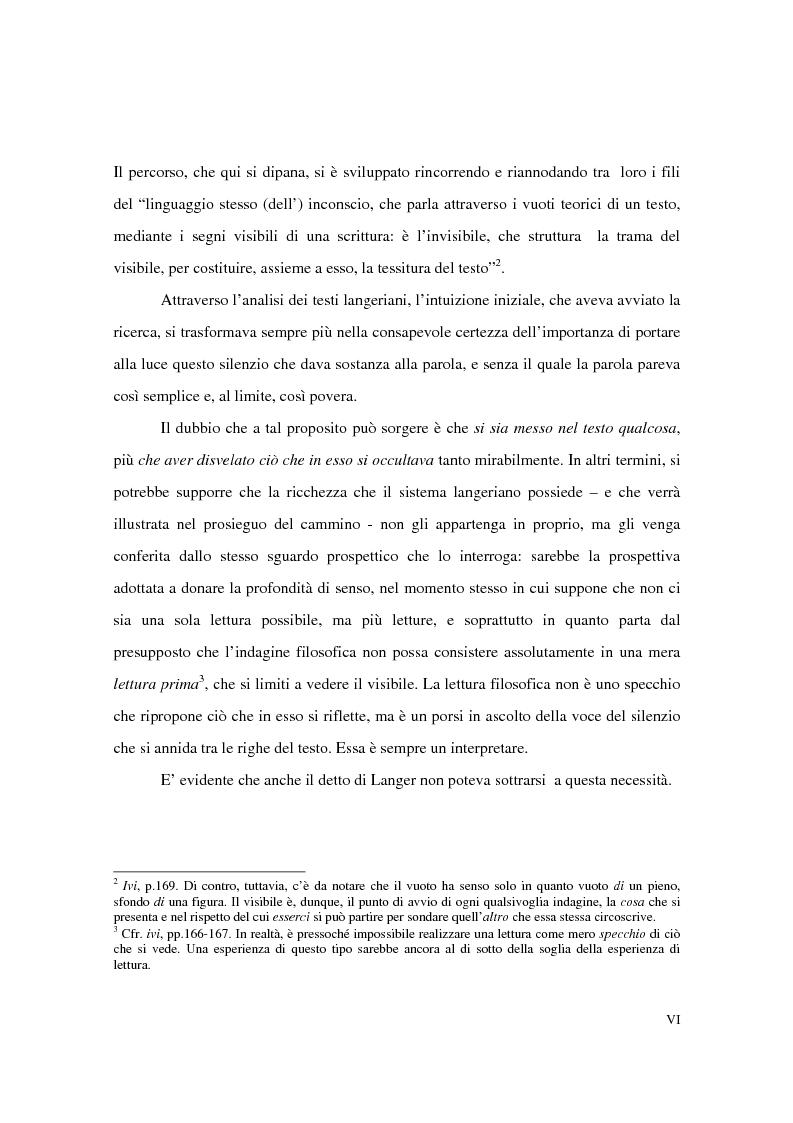 Anteprima della tesi: L'estetica simbolica in Susan K. Langer, Pagina 2