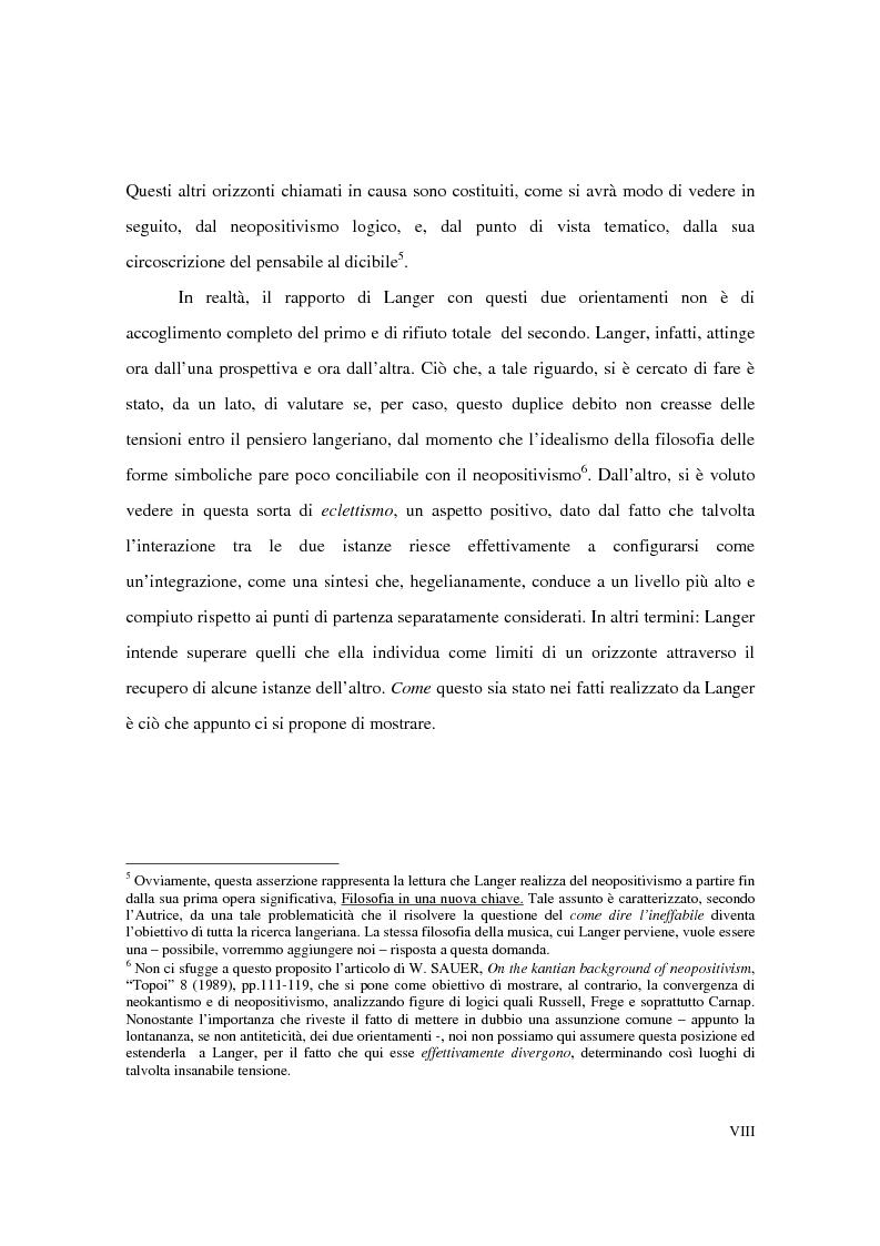 Anteprima della tesi: L'estetica simbolica in Susan K. Langer, Pagina 4