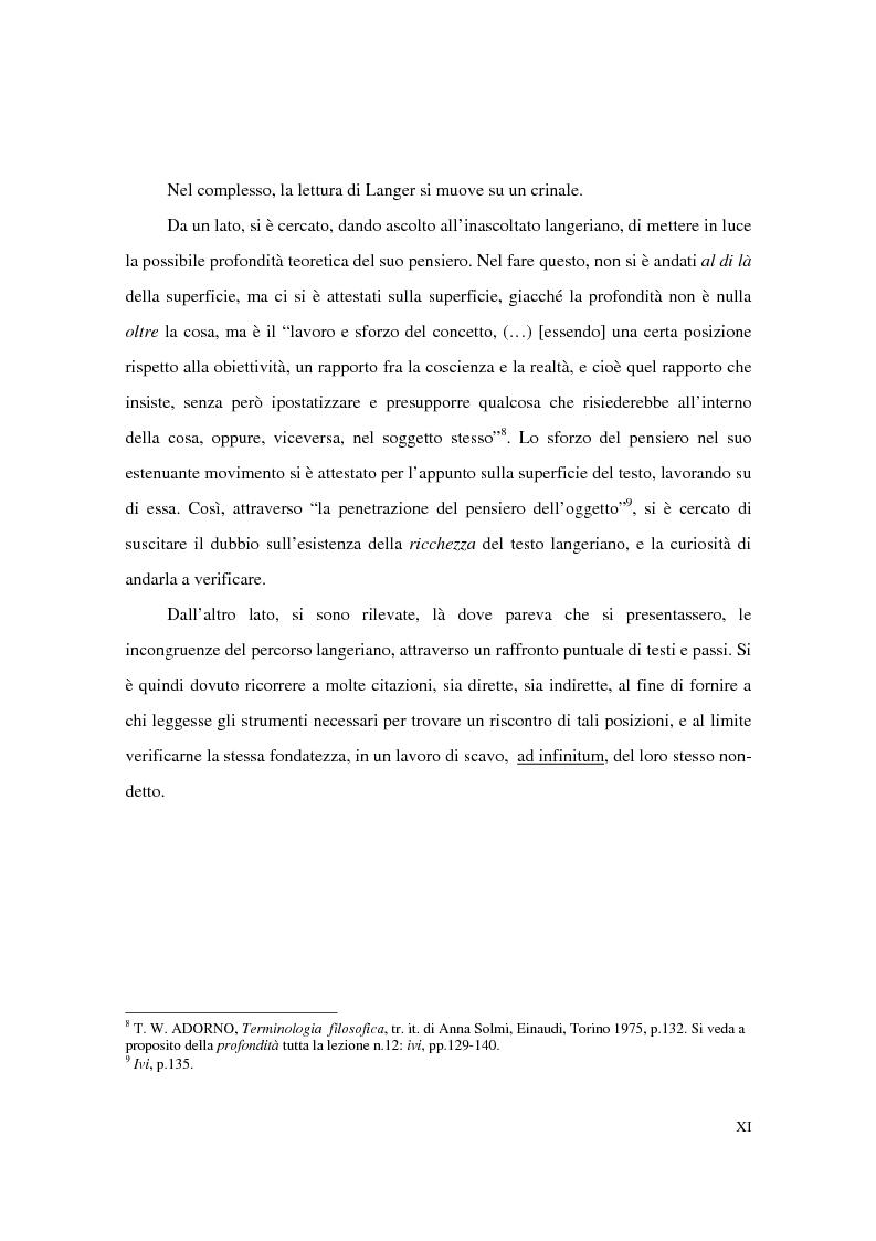 Anteprima della tesi: L'estetica simbolica in Susan K. Langer, Pagina 7