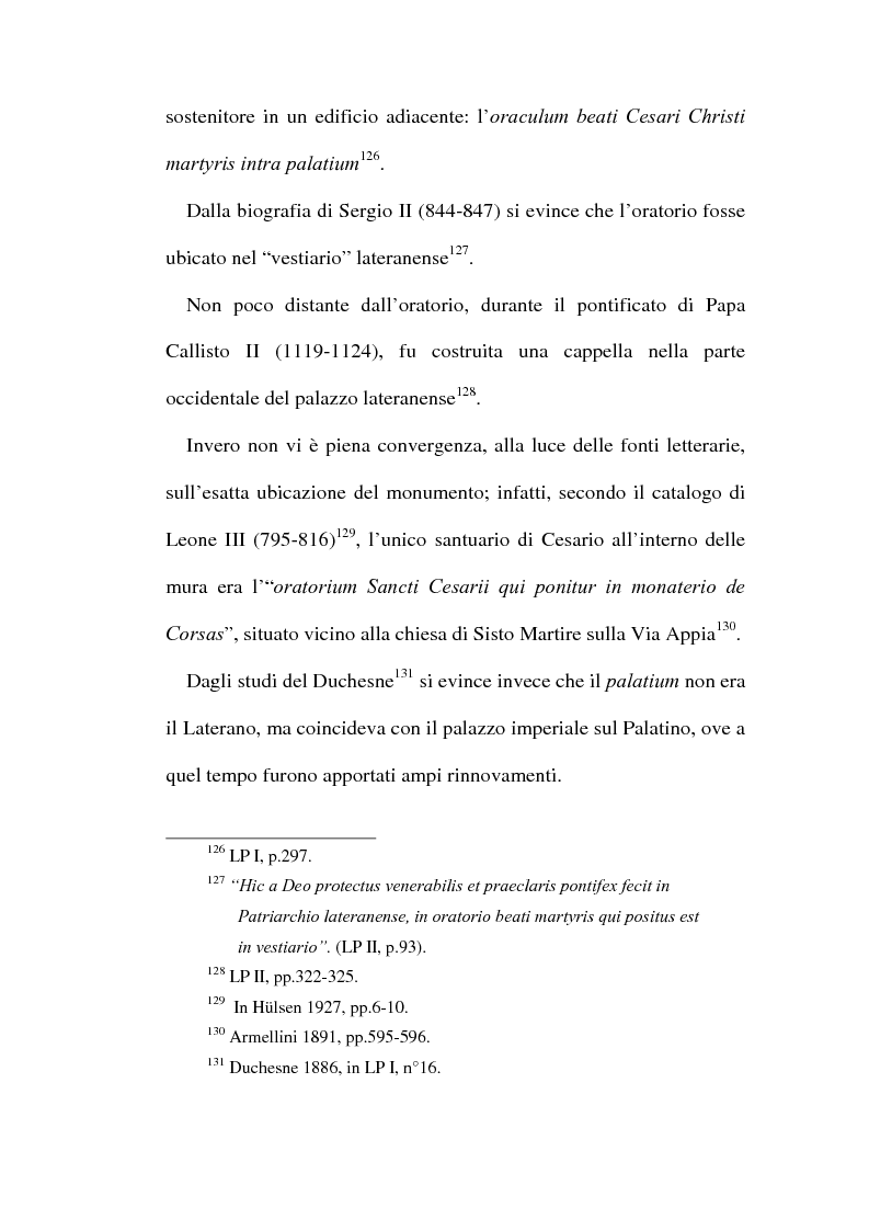 Anteprima della tesi: Le chiese cristiane scomparse nel rione Monti, tra il IV e il VI secolo, Pagina 13
