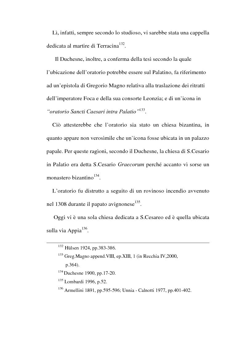Anteprima della tesi: Le chiese cristiane scomparse nel rione Monti, tra il IV e il VI secolo, Pagina 14
