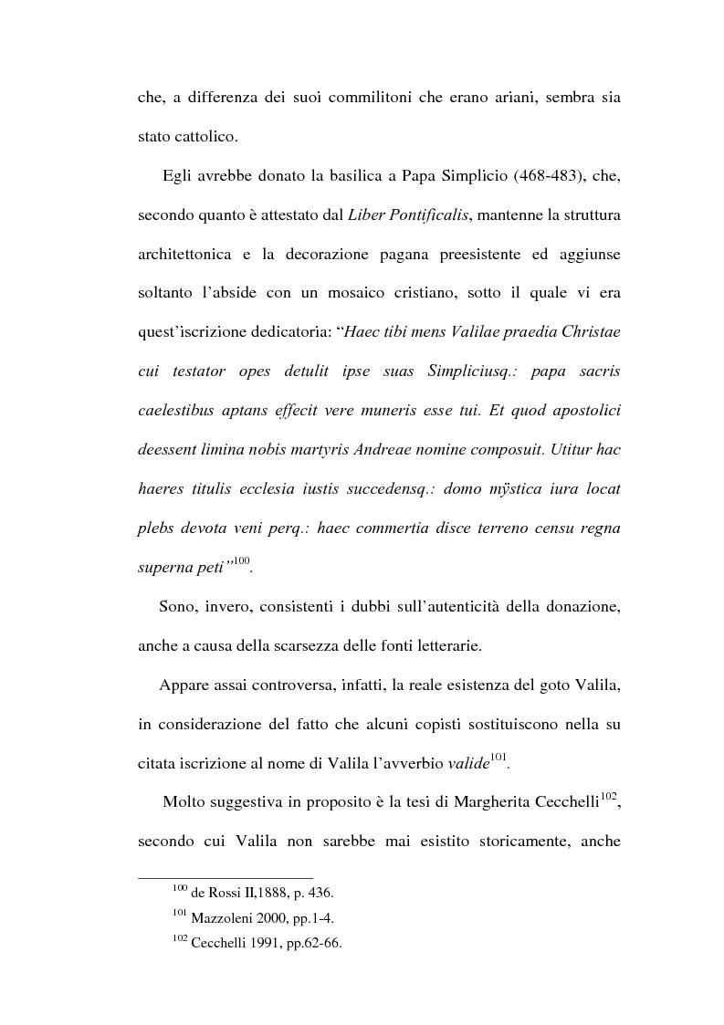 Anteprima della tesi: Le chiese cristiane scomparse nel rione Monti, tra il IV e il VI secolo, Pagina 7