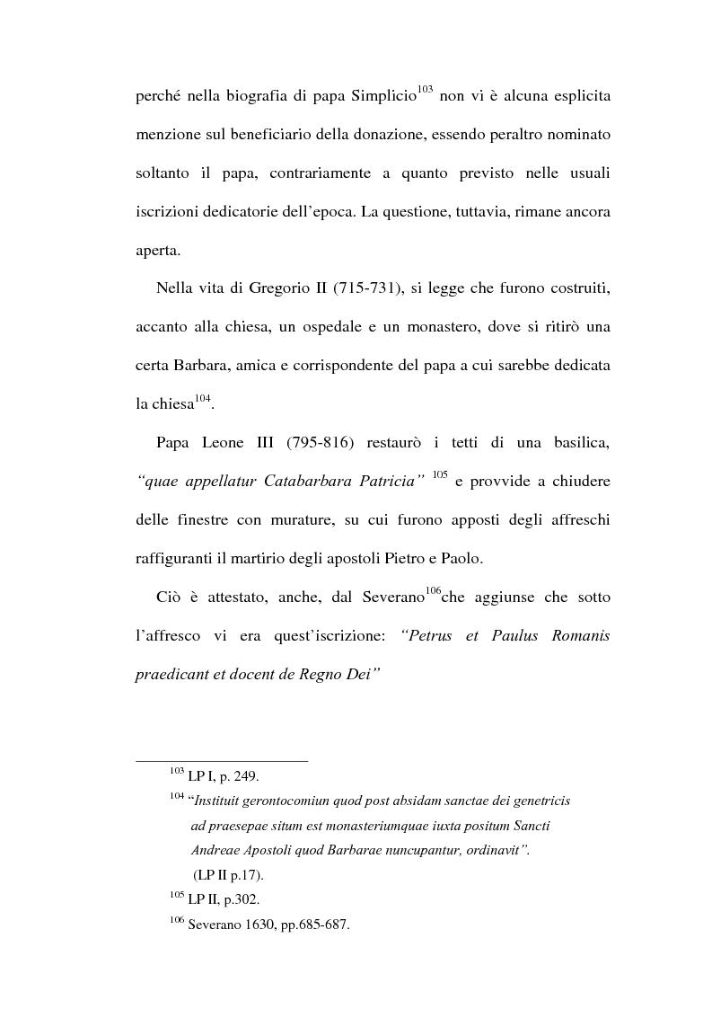 Anteprima della tesi: Le chiese cristiane scomparse nel rione Monti, tra il IV e il VI secolo, Pagina 8