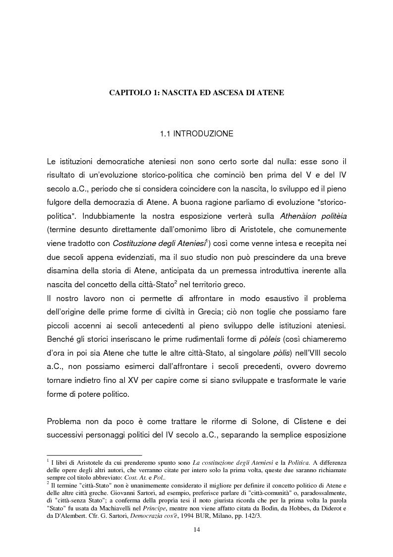 Anteprima della tesi: La democrazia ateniese. Un modello per la democrazia moderna, Pagina 6