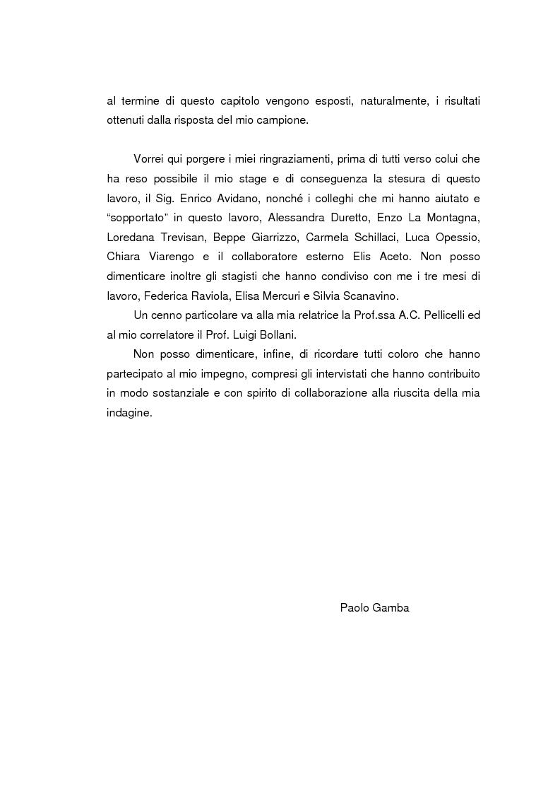 Anteprima della tesi: I prodotti bancari virtuali - Un'indagine di mercato per la Cassa di Risparmio di Asti, Pagina 3