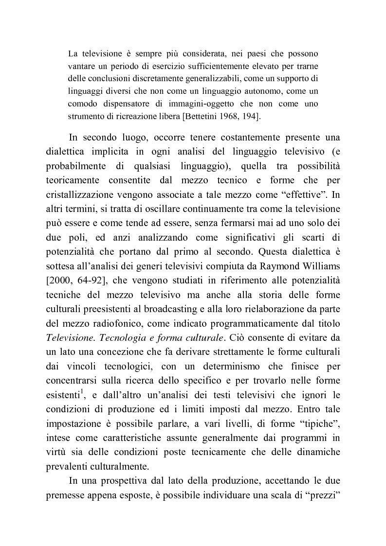 Anteprima della tesi: Usi della musica nella neotelevisione: una proposta di tassonomia, Pagina 11