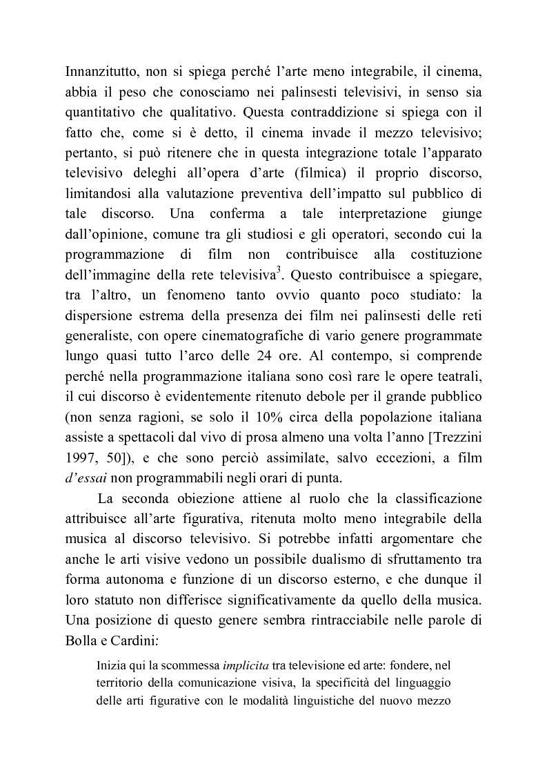 Anteprima della tesi: Usi della musica nella neotelevisione: una proposta di tassonomia, Pagina 13