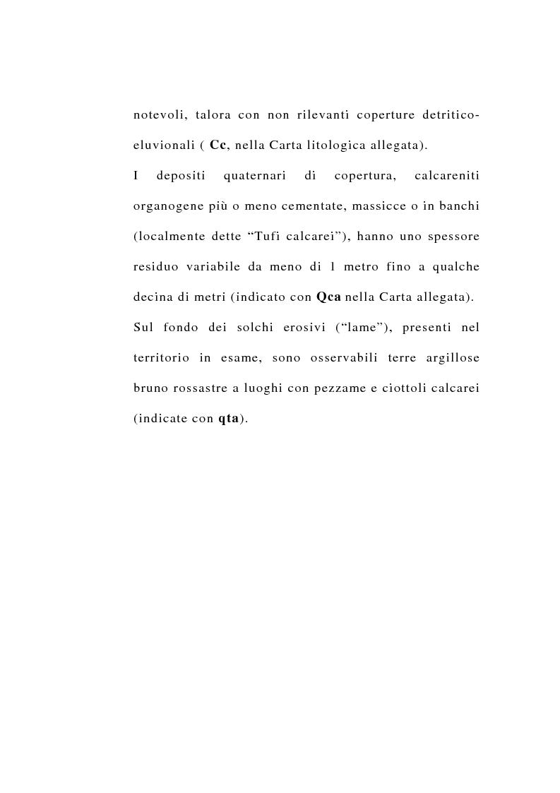 Anteprima della tesi: Ipotesi di riordino dell'uso irriguo della falda carsica in agro di Valenzano in provincia di Bari, Pagina 10
