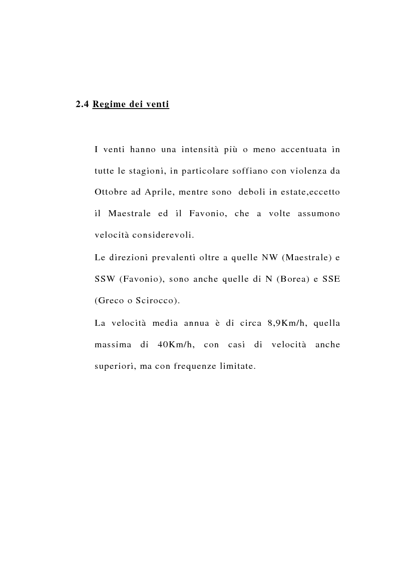 Anteprima della tesi: Ipotesi di riordino dell'uso irriguo della falda carsica in agro di Valenzano in provincia di Bari, Pagina 6