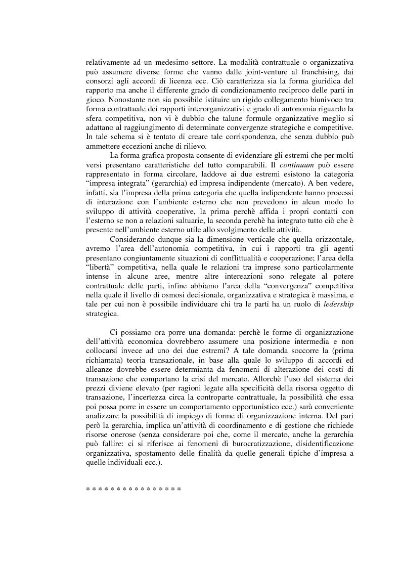 Anteprima della tesi: Relazioni cooperative tra imprese nell'industria aeronautica civile. Il caso Alenia, Pagina 3