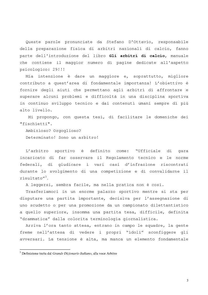 Anteprima della tesi: Per la formazione dell'arbitro sportivo, Pagina 2