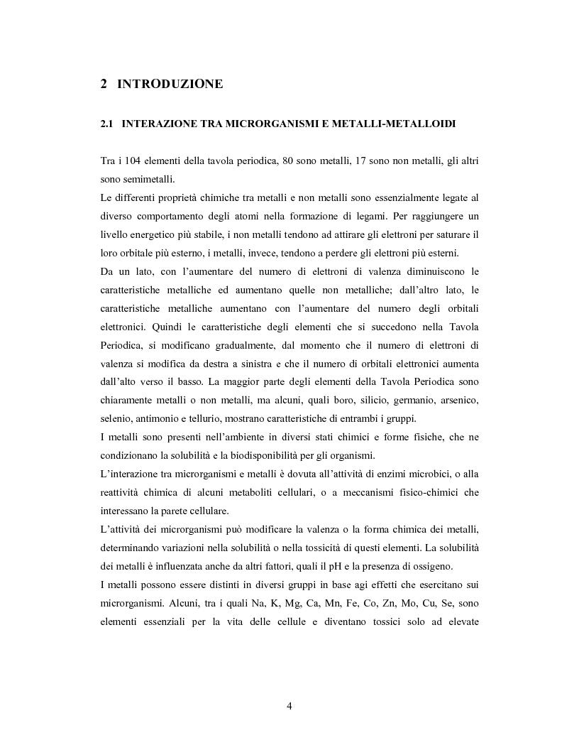 Anteprima della tesi: Accumulo di selenio da parte di specie di Lactobacillus, Pagina 2