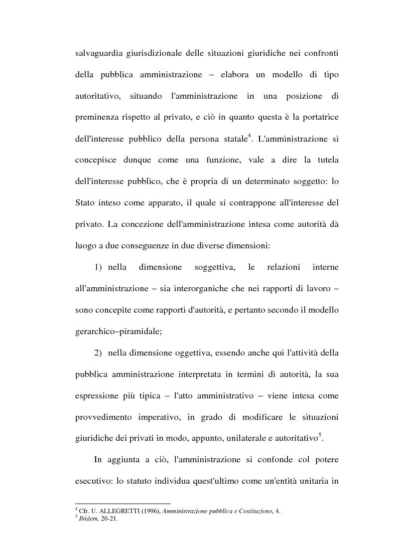 Anteprima della tesi: Il dibattito sulla riforma della pubblica amministrazione negli anni della ''Costituente'', Pagina 13