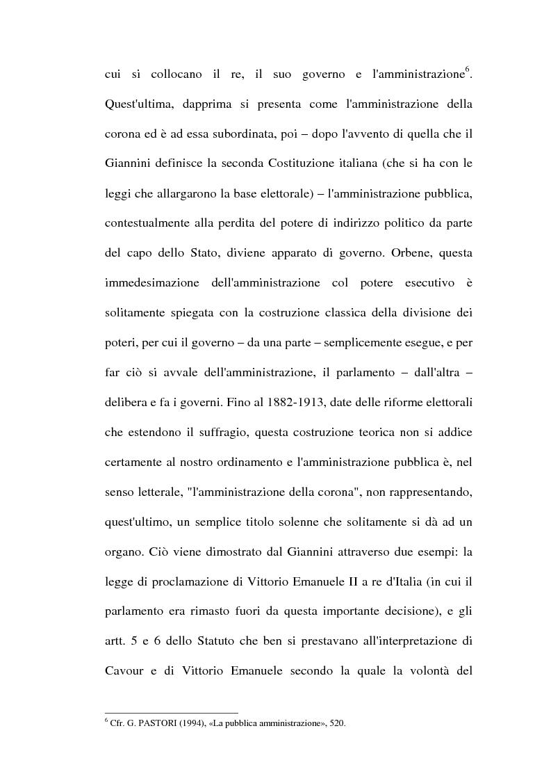 Anteprima della tesi: Il dibattito sulla riforma della pubblica amministrazione negli anni della ''Costituente'', Pagina 14
