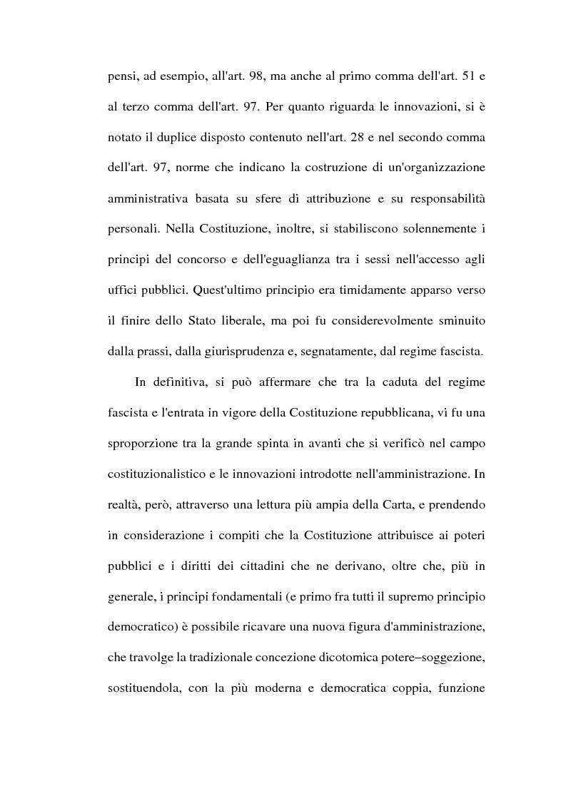 Anteprima della tesi: Il dibattito sulla riforma della pubblica amministrazione negli anni della ''Costituente'', Pagina 9