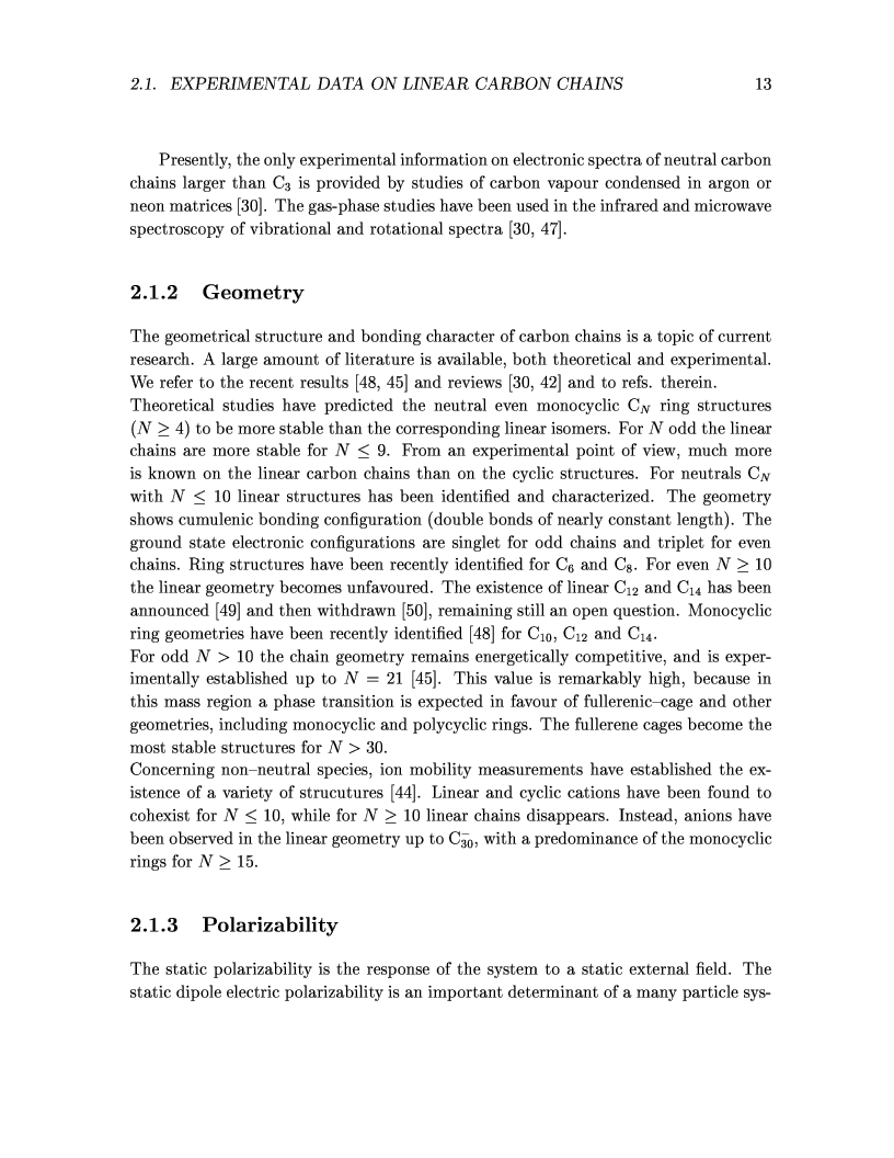 Anteprima della tesi: Ab-initio calculations of axially symmetric isolated carbon nanostructures: from linear chains to nanotubes, Pagina 8