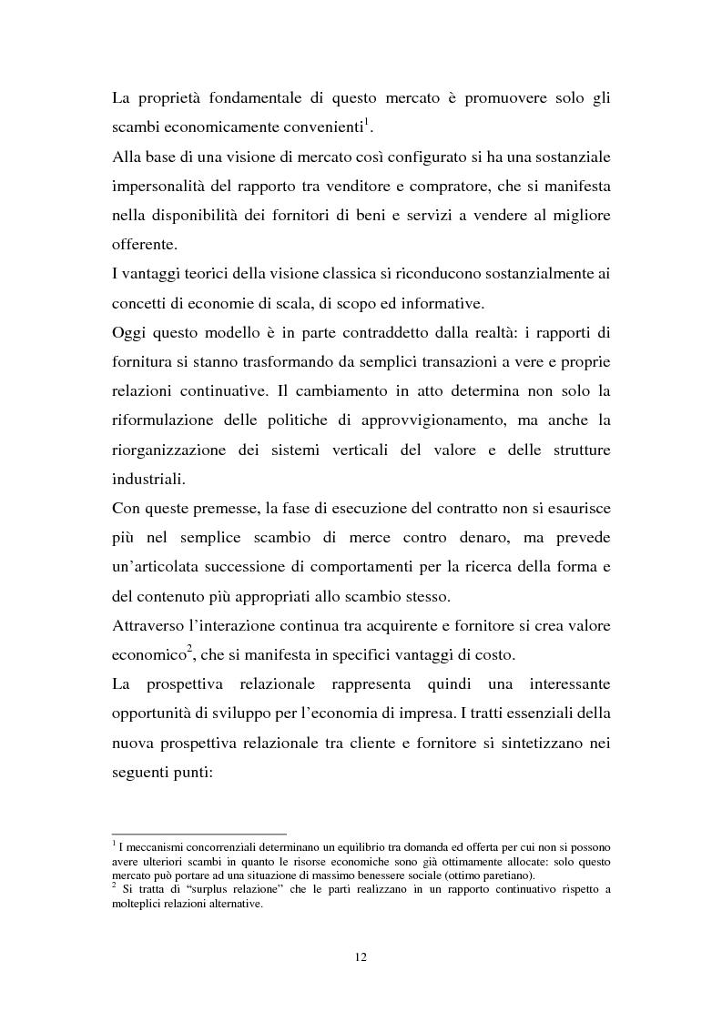 Anteprima della tesi: La gestione dell'e-procurement ed il ruolo delle banche, Pagina 4