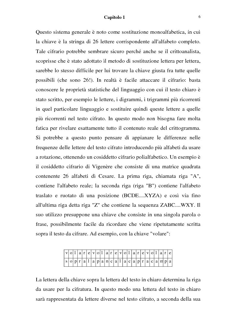 Anteprima della tesi: La sicurezza nei sistemi informatici: firma digitale,  l'algoritmo di Shor e sue possibili conseguenze, Pagina 4