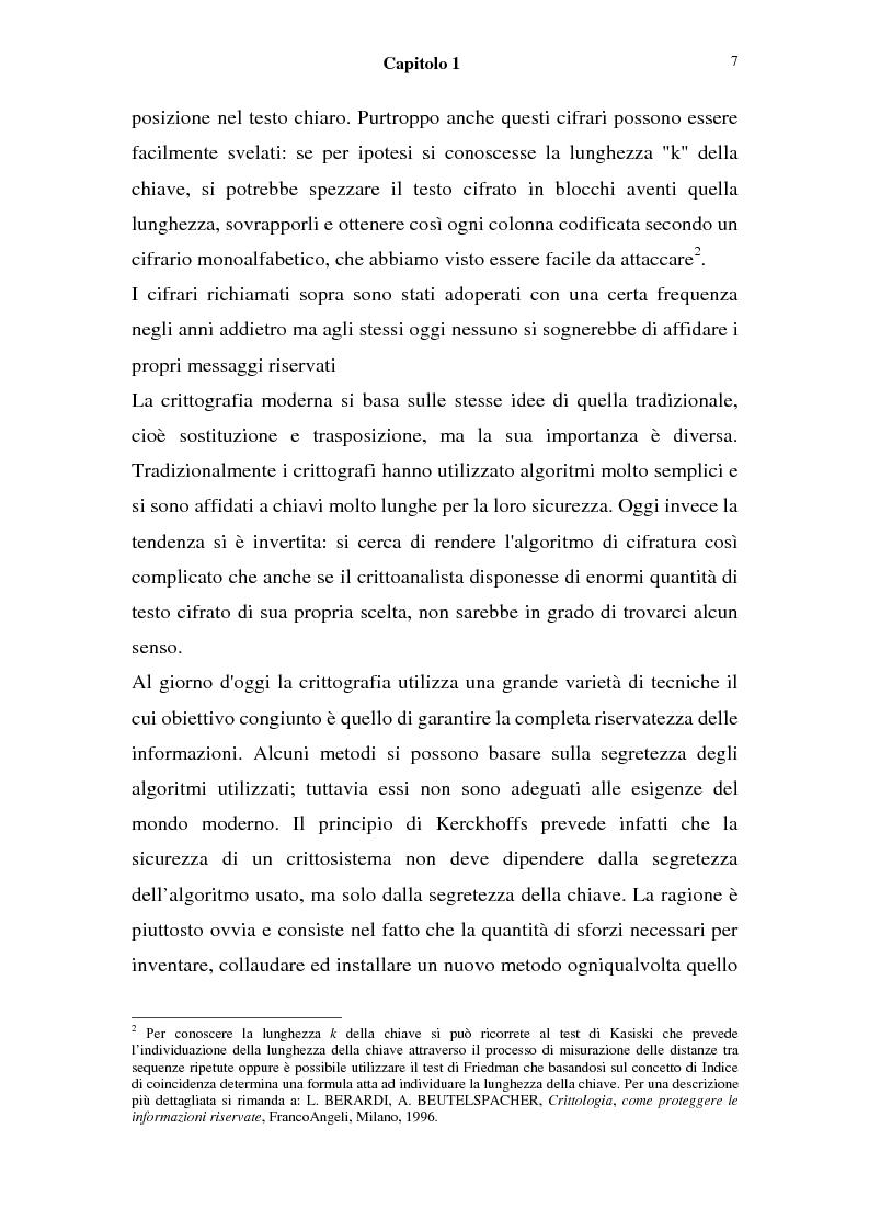 Anteprima della tesi: La sicurezza nei sistemi informatici: firma digitale,  l'algoritmo di Shor e sue possibili conseguenze, Pagina 5
