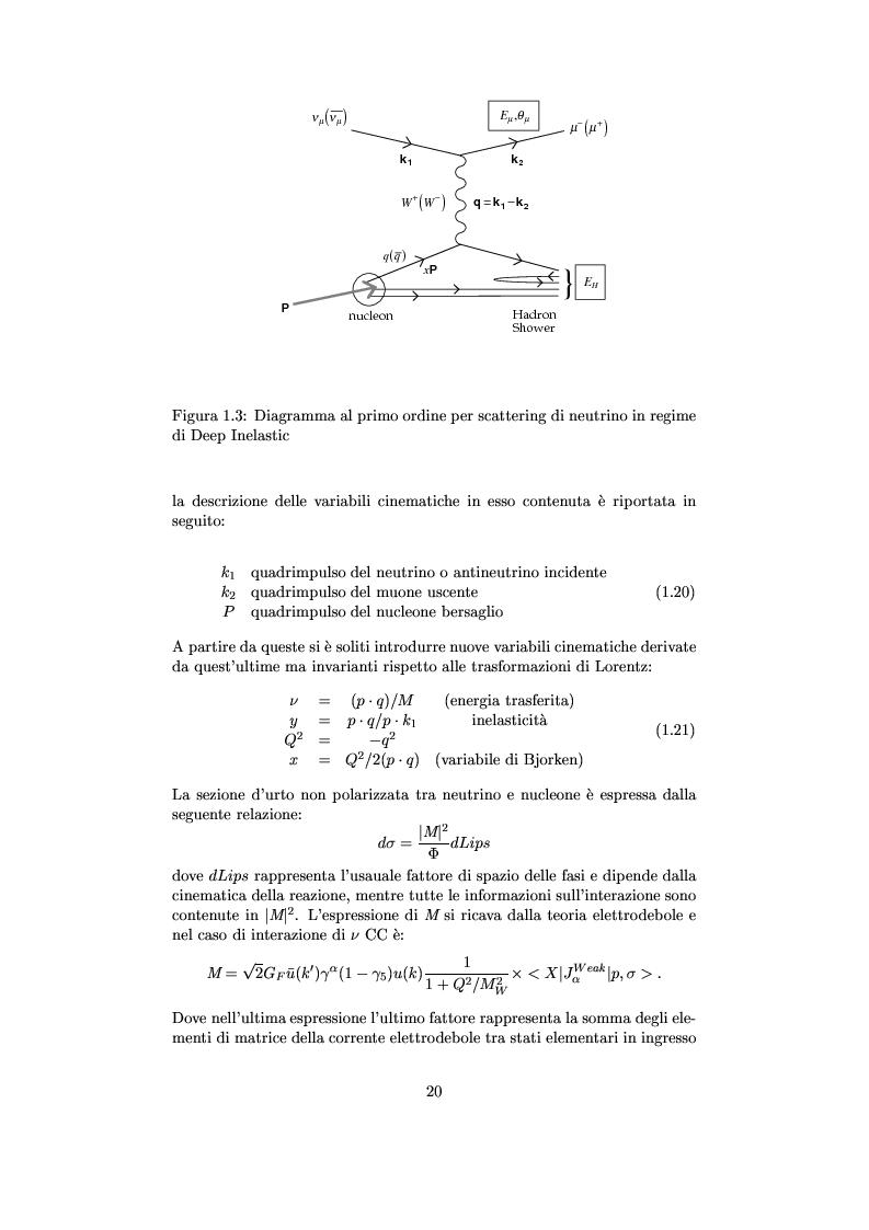 Anteprima della tesi: Misure cinematiche nell'esperimento Chorus per la ricerca di oscillazione di neutrini, Pagina 15